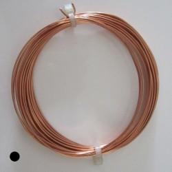20 Gauge Round Dead Soft Copper Wire - 6 Metres