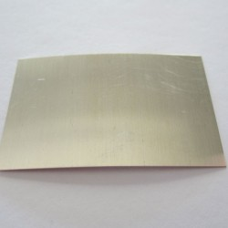 Hard Sheet Solder for Sterling Silver - 5cm x 2.5cm
