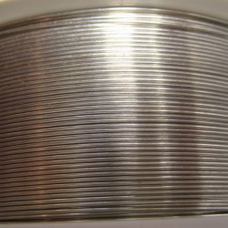22 Gauge Nickel Silver Half Hard Round Wire - 40 Metres