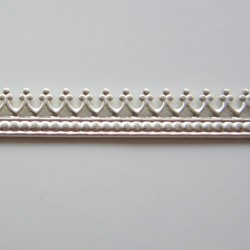 Gallery Wire 5.21mm High x 0.69mm Thick - Style B sold as a 50cm Piece