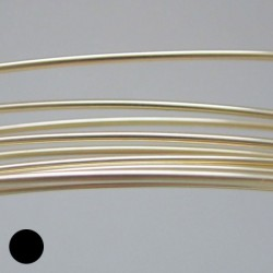 18 gauge Dead Soft Round 14k Gold Filled Wire - 50cm
