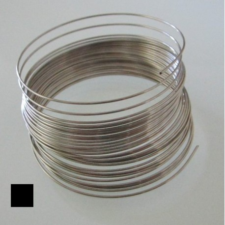 22 Gauge Stainless Steel 3/4 Hard Square Wire - 6 Metres
