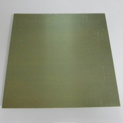 24 Gauge Jewellers Bronze Half Hard Sheet - 15cm X 15cm