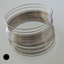 18 Gauge Stainless Steel Dead Soft Round Wire - 3.5 Metres