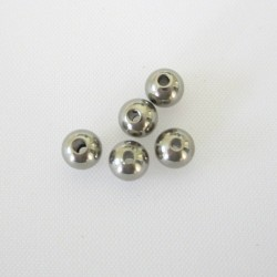 4mm Stainless Steel Bead - Pack of 10