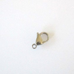 Stainless Steel 11mm Lobster Clasp - Pack of 2