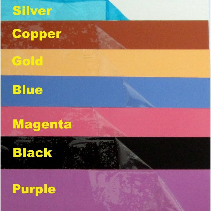 20 Gauge Anodised Aluminium Sheet Magenta 14cm X 14cm