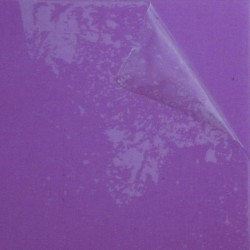 26 Gauge Anodised Aluminium Sheet Purple - 14cm X 14cm