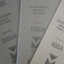 Sandpaper 3 Piece Pack - 600/1200/2000 Grit