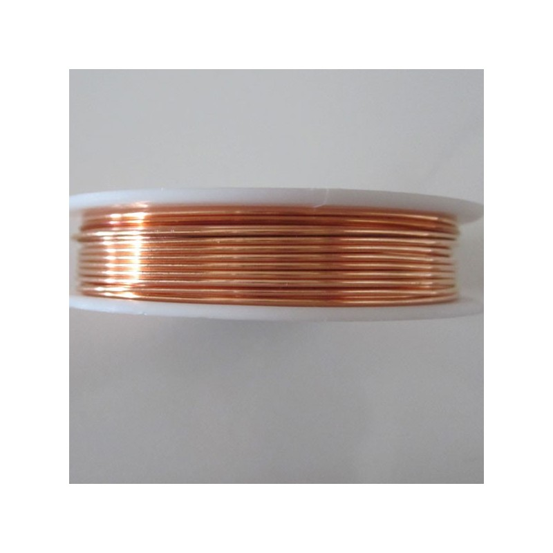 12 Gauge Round Natural Copper Wire - 2 Metres - Inspire With Wire