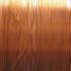 12 Gauge Natural Bright Copper Dead Soft Round Wire - 3 Metres