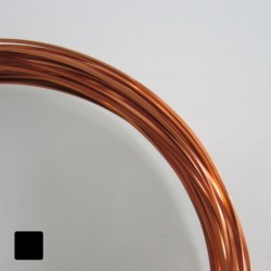 16ga (1.2mm) Square Anodised Aluminium Wire Copper - 13m