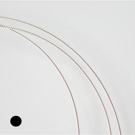 16 gauge Twist Sterling Silver Filled Wire - 50cms