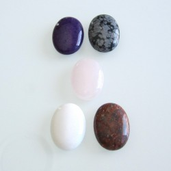 Cabochon Mix 30mm x 22mm - Pack of 2