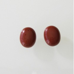 Red Jasper Oval Cabochon - 10x8mm Sold Individually
