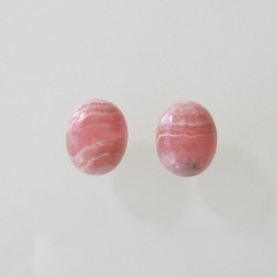 Rhodochrosite Oval Cabochon - 10x8mm Sold Individually