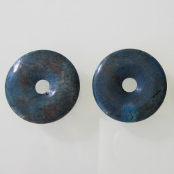Blue Sky Jasper Donut - 30mm Sold Individually