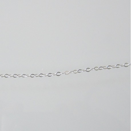 Flat Cable 2.2mm Sterling Silver Filled Chain - 1 metre
