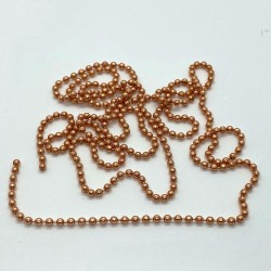 24mm Natural Copper Bead Chain
