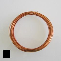 ParaWire 18ga Square Natural Copper Wire - 6.4 Metres