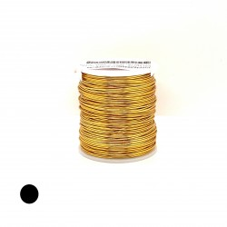 ParaWire 18ga Round Gold Silver Plated Copper Wire - 60 Metres