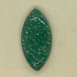 Russian Amazonite Cabochon - 36x17x6mm Sold Individually