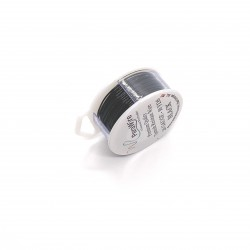 ParaWire 20ga Round Black Copper Wire with Anti Tarnish Coating - 9 Metres