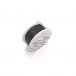 ParaWire 22ga Round Black Copper Wire with Anti Tarnish Coating - 13 Metres