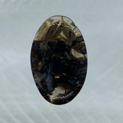 Turkish Agate Oval Cabochon - 30x20x4mm Sold Individually