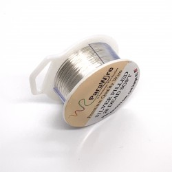 28ga Round Dead Soft 10% Silver-Filled Wire - 19 Metres