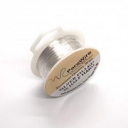 26ga Round Half Hard 10% Silver-Filled Wire - 12 Metres
