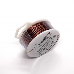 ParaWire 18ga Round Antique Copper Wire with Anti Tarnish Coating - 6 Metres