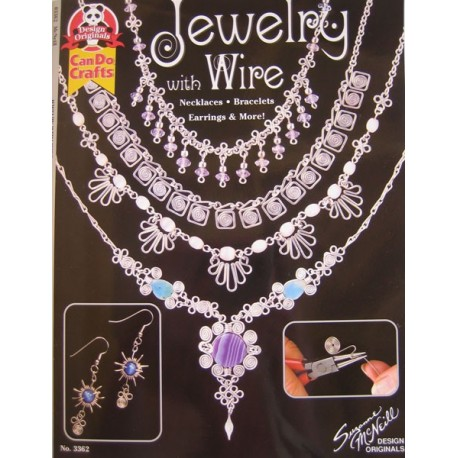 Jewelry with Wire by Suzanne McNeil